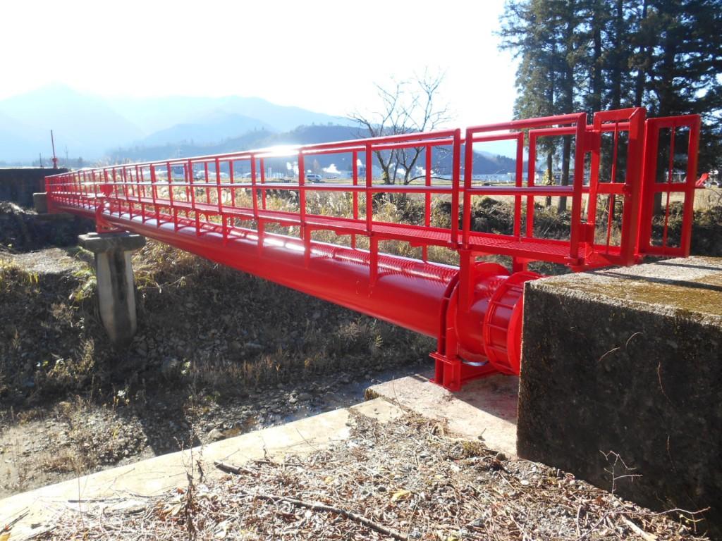 高棚川水管橋